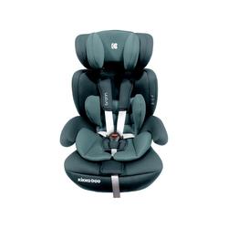 Kikkaboo Autokindersitz Kindersitz Bronn Isofix Gruppe 1/2/3, 4.75 kg, (9 - 36 kg) mit Isofix, Kopfstütze grün