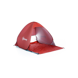 Outsunny Faltzelt Pop-Up Zelt für 2 Personen rot