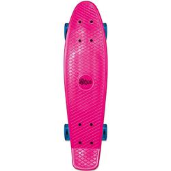 Skateboard fun, pink mit Leuchtrollen