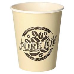 50 PAPSTAR Einweg-Kaffeebecher PURE JOY 0,2 l