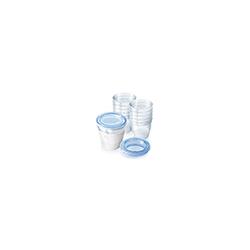AVENT Aufbewahrungssystem für Muttermilch 10X180 ml