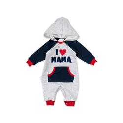 Baby Sweets Overall Overall I love Mama & Papa (1-tlg) 86 (12-18 Monate)