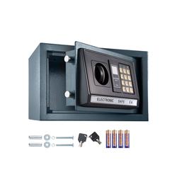 tectake Tresor Elektronischer Safe Tresor mit Schlüssel und