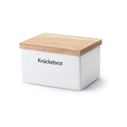 Continenta Vorratsdose Vorratsdose mit Holzdeckel'' Knäckebrot''