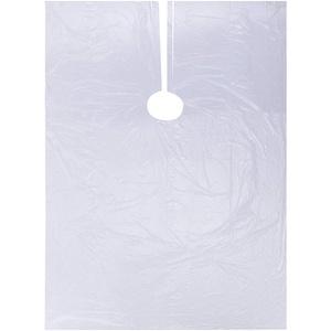 Einweg Friseurumhang, 50 Stück Friseurumhang-Haarschnitt Schal Kleid,Transparente wasserdichte Haarschneideumhang Haarschnittschürze Friseursalon-Stoffumhang für Erwachsene Kinder (40PCS)