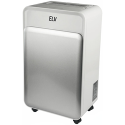 ELV Premium-Kompressor-Luftentfeuchter KLE25-D mit 4 Programmen, 25 l/24 h, max. 50 m², 5,3 l Tank