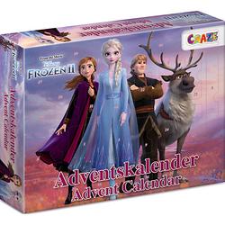 Adventskalender Frozen II 41 x 32,5 x 6,2cm