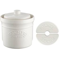 KILNER Einmachglas, Keramik, (1-tlg), zum Fermentieren und Gären, 8 Liter