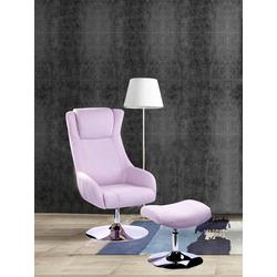 SIT Sessel Sit&Chairs, mit Hocker rosa