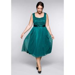 Sheego Abendkleid Sheego smaragd
