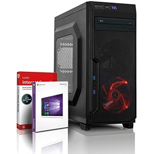 shinobee Unité Centrale PC Gamer 4-Core AMD A8-9600 4X 3,40 GHz - 8 Go DDR4-1 to - Windows 10 - USB3.0 - Ordinateur de Bureau - PC Gaming - Ordinateur Gamer #5976