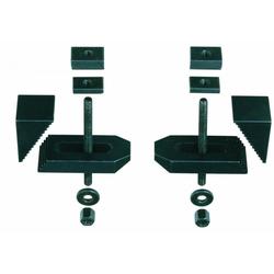 PROXXON 24257 gefräste Stufenspannpratzen / Spannpratzen 2 Stück