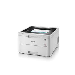 Brother Kompakter Duplex-Farbdrucker mit LAN/WLAN Farblaserdrucker, (WLAN (Wi-Fi)