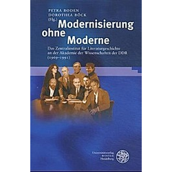 Modernisierung ohne Moderne - Buch