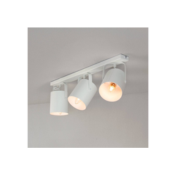 Licht-Erlebnisse Deckenstrahler BLITZ Deckenstrahler Weiß länglich modern Spot Wohnzimmer Flur Lampe