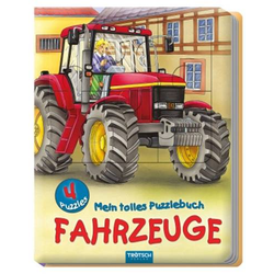 Mein tolles Puzzlebuch - Fahrzeuge