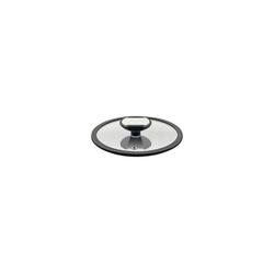 Berndes Topfdeckel Glasdeckel mit schw. Silikonrand Balance, (1-tlg), Glasdeckel mit Silikonrand Ø 16 cm x 16 cm