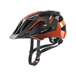 """Uvex Fahrradhelm Fahrradhelm """"Quatro"""" orange 52-57"""