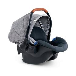 Hauck Babyschale Babyschale Comfort Fix, Black grau