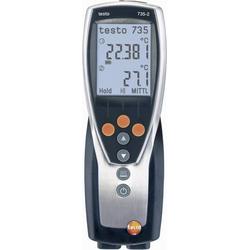 Testo 735-2 Temperatur-Messgerät -200 bis +1370°C Fühler-Typ K, Pt100
