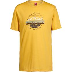 OCK T-Shirt Herren in senfgelb, Größe S senfgelb S