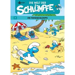 Schlümpfe - Die Welt der Schlümpfe 07. Ferienschlümpfe als Buch von Peyo