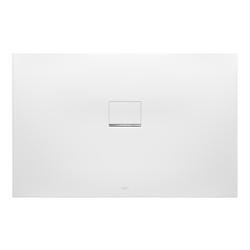 Villeroy & Boch Squaro Infinity Duschwanne Quaryl® 140 x 80 x 4 cm… Grau (matt)