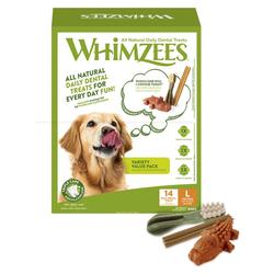 Whimzees Variety Value Box L - 14 Stück