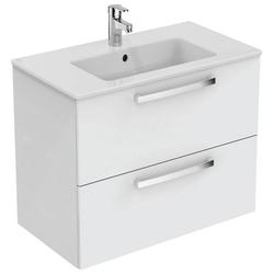 Ideal Standard Waschtisch Eurovit Plus (Set, 2-St), 2 Auszüge weiß