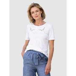Dress In T-Shirt mit Lochstickerei 54