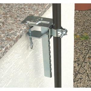 Balkonklammer für Sonnenschirm Sonnenschirmhalter Schirmhalter Balkon #450650 e