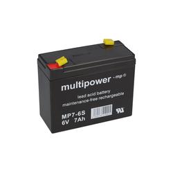 Multipower Multipower Blei-Akku MP7-6S Pb 6V 7Ah Bleiakkus