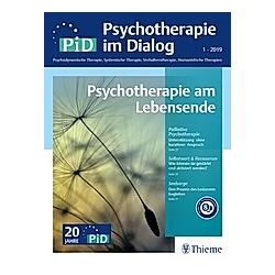Psychotherapie im Dialog (PiD): 1/2019 Psychotherapie am Lebensende - Buch