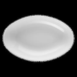 Meran Beilage oval tief 5231 18,5 cm weiß