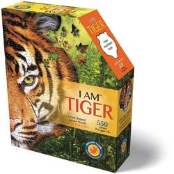 Konturenpuzzle Tiger, 550 Puzzleteile