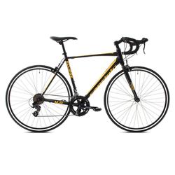 breluxx Rennrad 28 Zoll Rennrad Road ECLIPSE 4.0 -schwarz gelb, 11.2kg, 14 Gang, Kettenschaltung