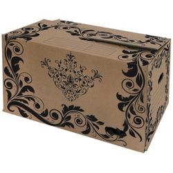Pressel Umzugskarton, Karton, 650 x 350 x 370 mm, braun
