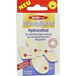 WUNDPFLASTER Hydrocolloid 4 Größen 10 St