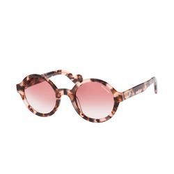 MONCLER ML 0041/S 55F, Runde Sonnenbrille, Damen