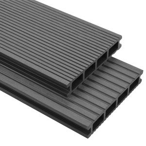 vidaXL WPC Terrassendielen 16m2 2,2m 25mm Komplettbausatz Komplettset Diele