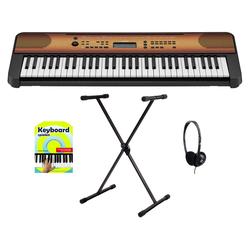 Yamaha PSR-E360 MA Keyboard Starter Set Ahorn