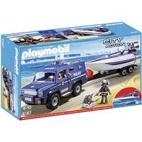 Playmobil City Action Polizei-Truck mit Speedboot 5187