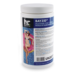 1 x 1 kg BAYZID® Multitabs 200g 5in1 für Pools