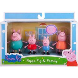 PEPPA 4er Spielfiguren Peppas Familie 92611