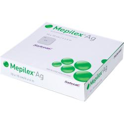 MEPILEX Ag Schaumverband 10x10 cm steril 10 St