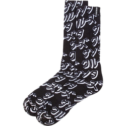 Socken SANTA CRUZ - Japanese Sock Black (BLACK)