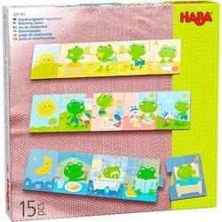 HABA 305781 - Zuordnungsspiel Tagesablauf, Holz