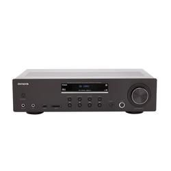 Aiwa Aiwa AMU-120BTBK Stereo Vollverstärker AV-Empfänger und -Verstärker, Bluetooth v5.0-Empfänger, 120 W RMS Vollverstärker (120 W)