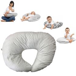 Clair De Lune 4 in 1 Nursing / Breastfeeding / Pregnancy Pillow / Cushion - Secret Garden Green