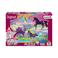 Schmidt Spiele Puzzle Puzzle Schleich Bayala inkl. Schleich-Figur -, Puzzleteile
